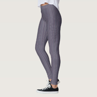 HAMbyWG - Compression Leggings - Purple Stripes