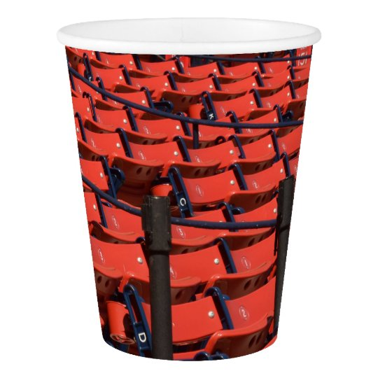 HAMbyWG - Custom Paper Cup, 9 oz - Stadium Seats Paper Cup