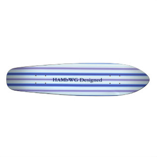 HAMbyWG Designed - Saketeboard - Lightning Stripe Skate Board Deck
