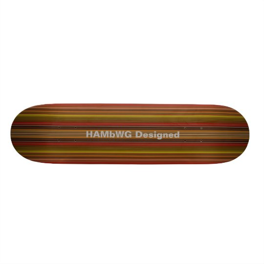 HAMbyWG Designed - Skateboard - Autumn