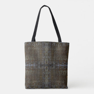 HAMbyWG Designed Tote Bags - Bronze Distressed