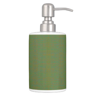 HAMbyWG - Dispensers HAMbWG - Mixed Green Soap Dispenser And Toothbrush Holder