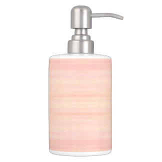 HAMbyWG - Dispensers HAMbWG  Peachy Pink Soap Dispenser And Toothbrush Holder