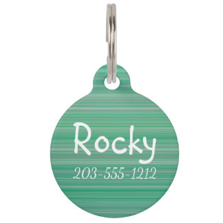 HAMbyWG - Dog Name Tag - Fine Color