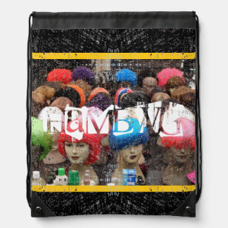 HAMbyWG Drawstring Backpack - Colored Wigs