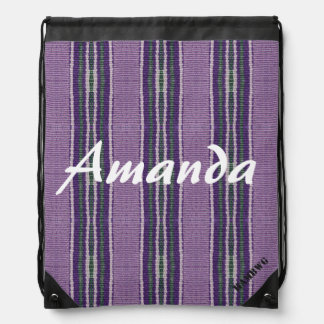 HAMbyWG Drawstring Backpack - Hippy Purple