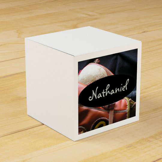 HAMbyWG - Favour Box -Baseball Personalized Party Favor Boxes