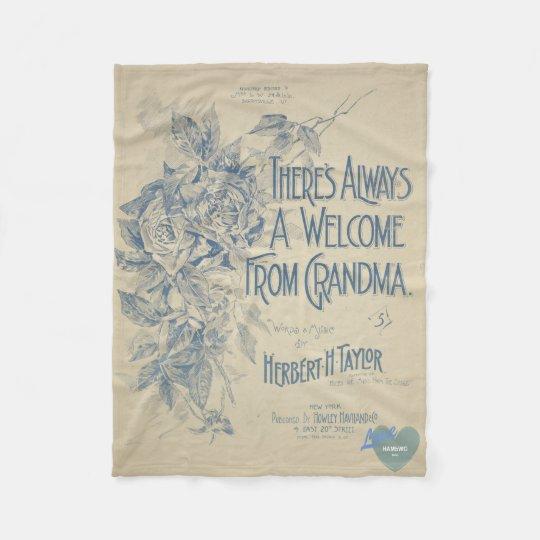 HAMbyWG - Fleece Blanket - Grandma