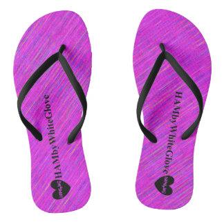 HAMbyWG - Flip-Flop  - Violet Pink Mix Flip Flops