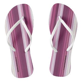 HAMbyWG - Flip-Flops  - Cherry White Gradient Flip Flops