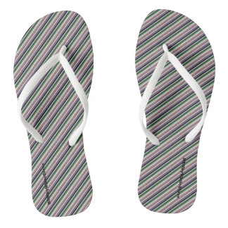 HAMbyWG - Flip-Flops - Mixed Stripes Aston Flip Flops