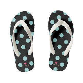 HAMbyWG - Flip-Flops - Polka Dots Kid's Flip Flops