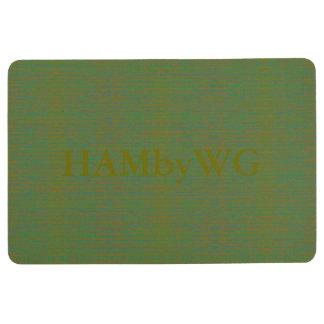 HAMbyWG - Floor Mat - Mixed Green