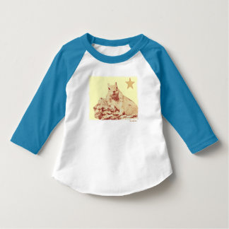 HAMbyWG Football Jersey - Squirrel Lime Star T-Shirt