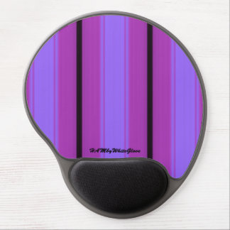 HAMbyWG - Gel Mouse Pad - Bright Violet Stripe