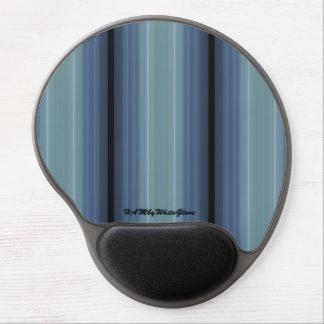 HAMbyWG - Gel Mouse Pad - Gray-Blue