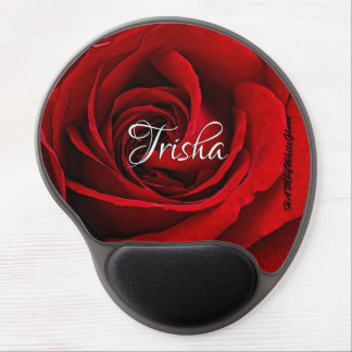 HAMbyWG - Gel Mouse Pad - Red Rose