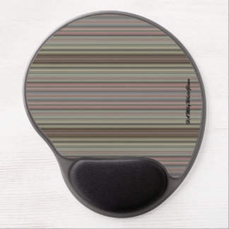 HAMbyWG - Gel Mouse Pad - Vintage Mauve Stripe