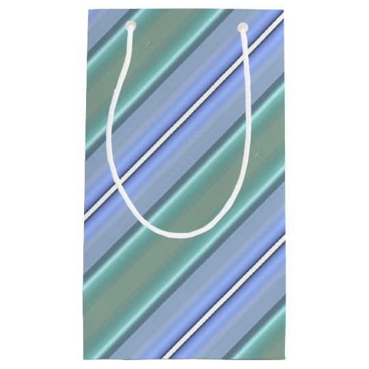 HAMbyWG Gift Bag - Light Blue & Mint Stripe