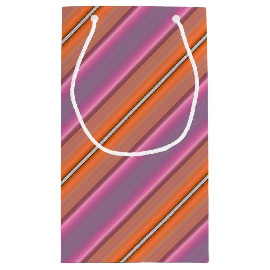 HAMbyWG Gift Bag - Orange & Pink Stripe