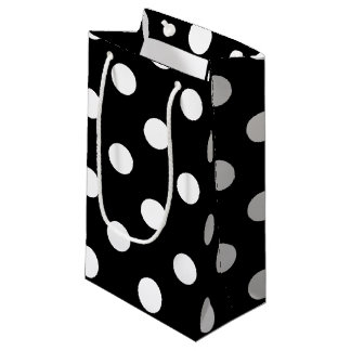 HAMbyWG Gift Bag - Polka Dots on Black