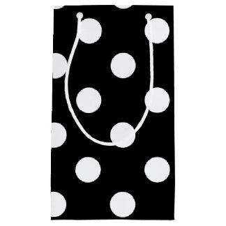 HAMbyWG Gift Bag - Polka Dots on Black
