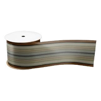 HAMbyWG - Gift Ribbon - Ivory Stripe Satin Ribbon