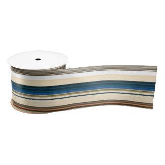 HAMbyWG - Gift Ribbon - Multi Color w Teal Satin Ribbon