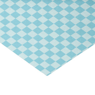 HAMbyWG - Gift Tissue - Aqua-Blue Gingham Tissue Paper