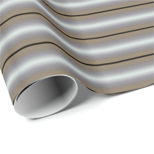 HAMbyWG - Gift Wrap - Art Deco Stripe