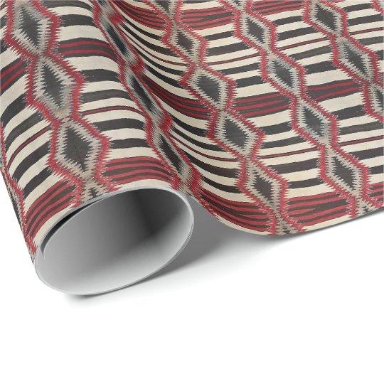 HAMbywG - Gift Wrap - Tribal Black Red Bone