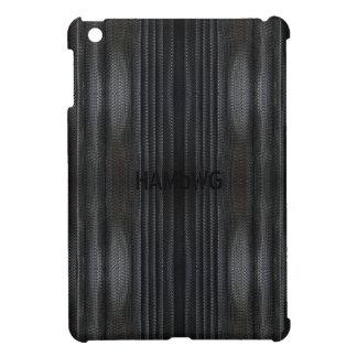 HAMbyWG   Glossy Hard Case - Black Mesh iPad Mini Cover