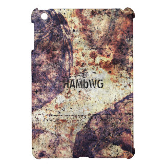 HAMbyWG   Glossy Hard Case - Distressed iPad Mini Cover