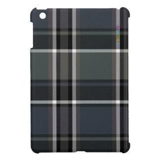 HAMbyWG   Glossy Hard Case - Plaid w Black iPad Mini Case