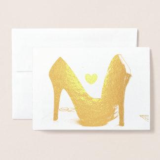HAMByWG Gold Foil Card - Heels