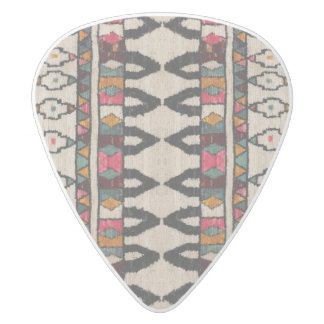 HAMbyWG - Guitar Pics - Moroccan White Delrin Guitar Pick