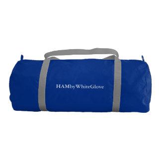HAMbyWG Gym Bag, Regatta Blue with Silver straps
