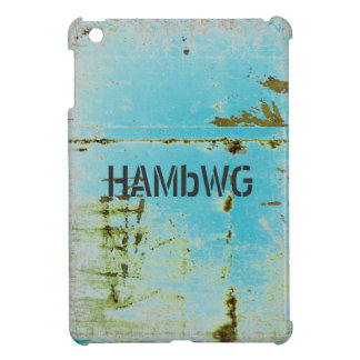HAMbyWG -Hard Case - Distressed Aqua iPad Mini Covers