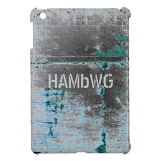HAMbyWG -Hard Case - Distressed Blue iPad Mini Case