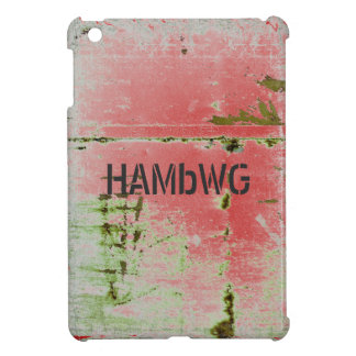 HAMbyWG -Hard Case - Distressed Green iPad Mini Case
