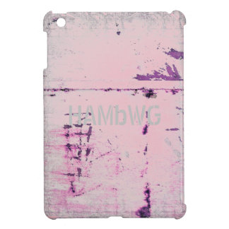 HAMbyWG -Hard Case - Distressed Pink iPad Mini Cover