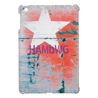 HAMbyWG -Hard Case - Distressed Star Case For The iPad Mini