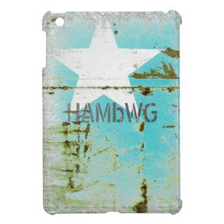 HAMbyWG -Hard Case - Distressed Star iPad Mini Cases
