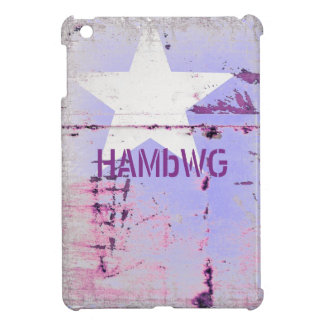 HAMbyWG -Hard Case - Distressed Star iPad Mini Cover
