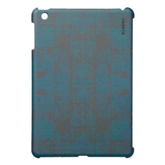 HAMbyWG   Hard Case -  Distressed Teal iPad Mini Cover