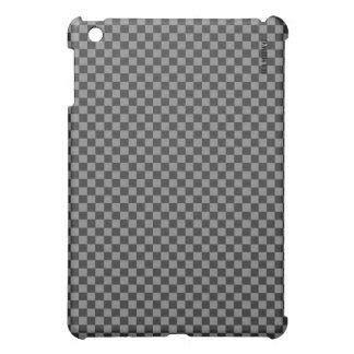 HAMbyWG   Hard Case -  Gray Black Gingham iPad Mini Case