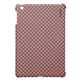 HAMbyWG   Hard Case - Hibiscus Gingham iPad Mini Case