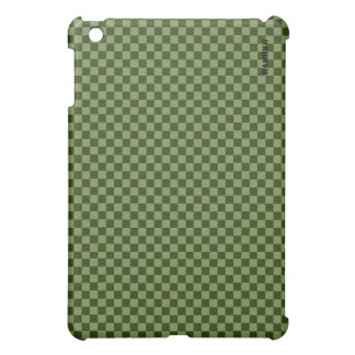 HAMbyWG   Hard Case - Moss Gingham iPad Mini Cover