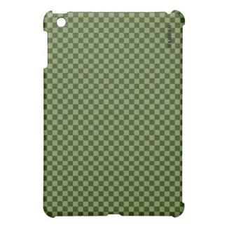 HAMbyWG   Hard Case - Moss Gingham iPad Mini Covers