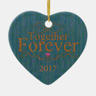 HAMbyWG - Heart Shaped Ornament - Together Forever
